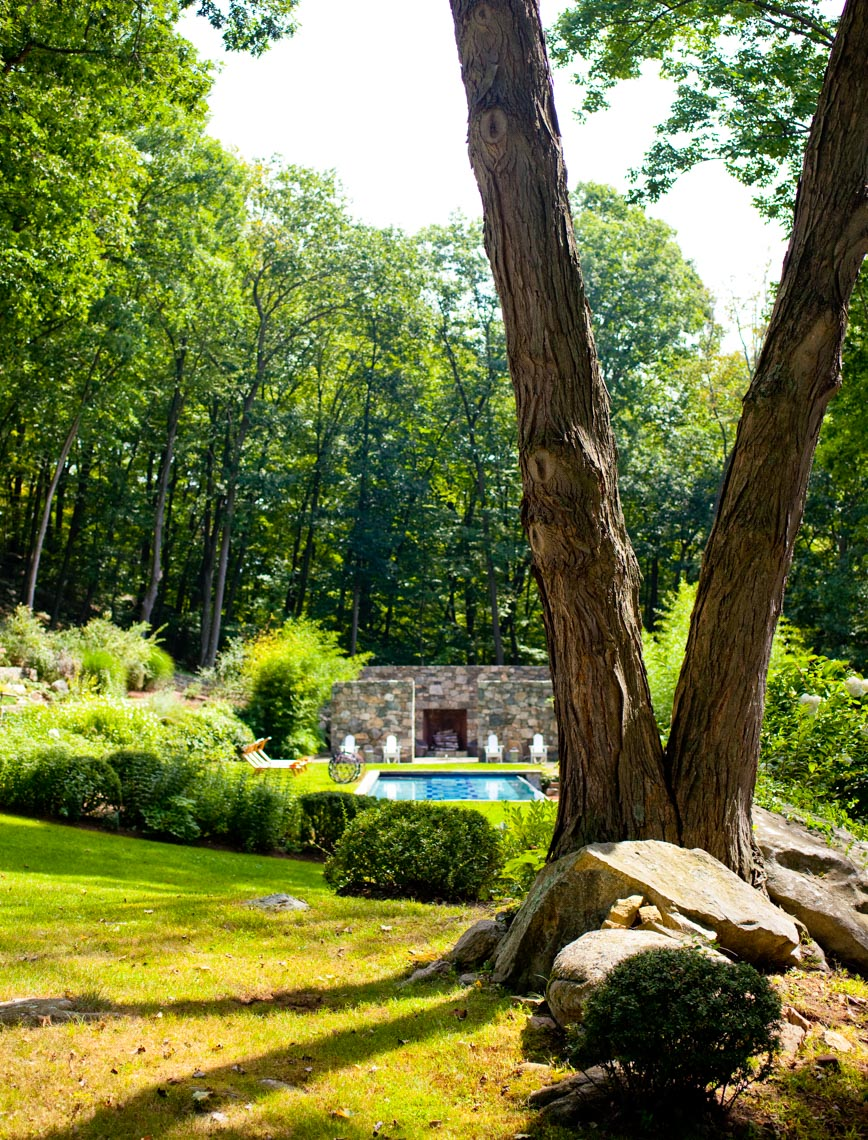 Upstate New York Home and Garden of Juan Montoya and Urban Karlsson
